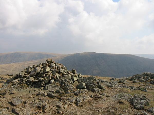 Thornthwaite Beacon from Stony Cove Pike, the top of Caudale Moor