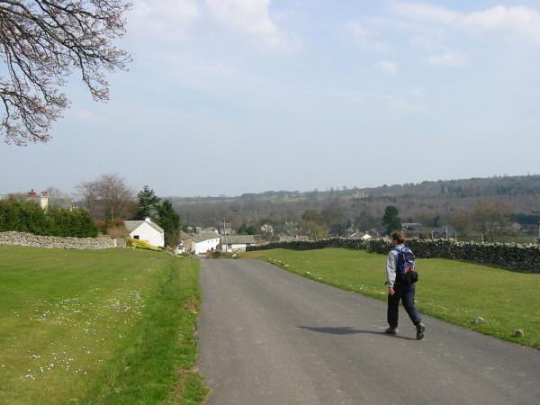 Descending back into the village