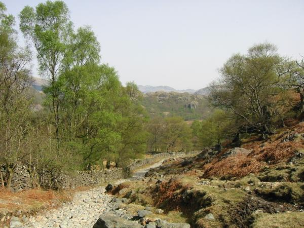 Park Head Road out of Seathwaite