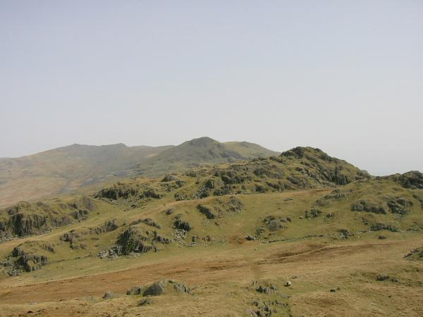 Pikes with the Dow Crag to White Pike ridge behind
