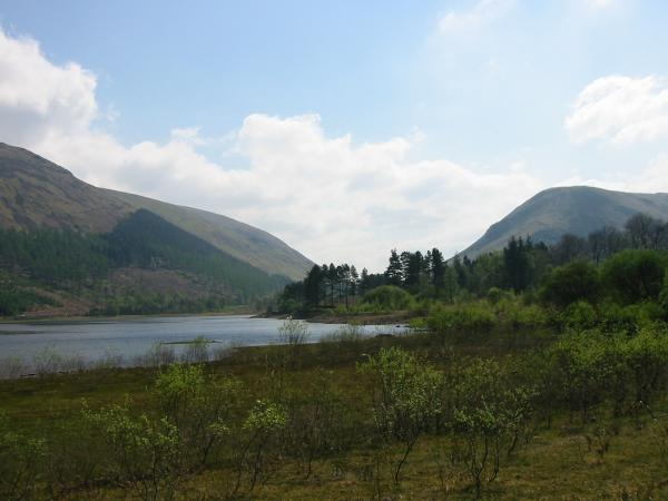 Thirlmere with Steel Fell on the right