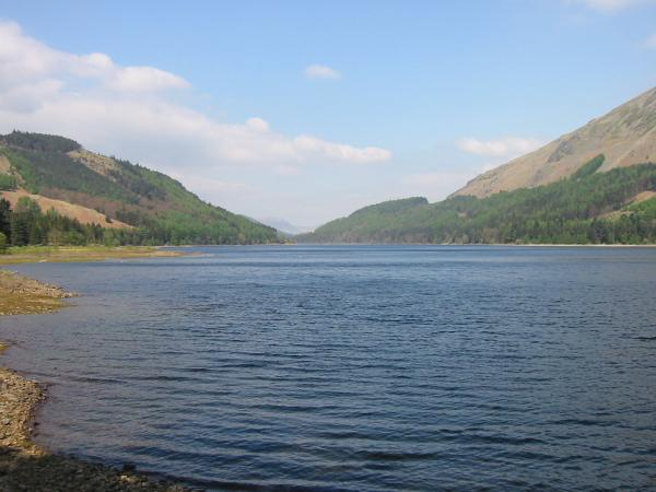 The view northwards down Thirlmere