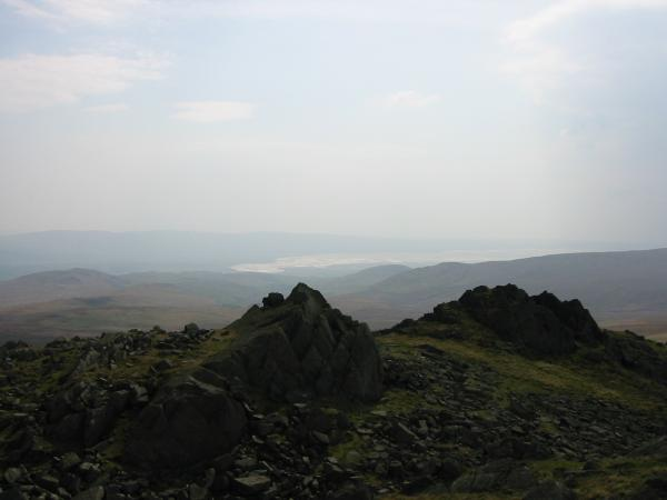 The view south to Duddon Sands from Buck Barrow summit
