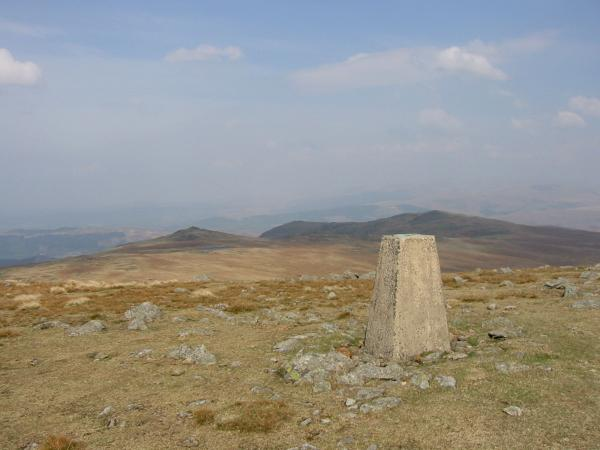 Stainton Pike and Yoadcastle from Whitfell summit