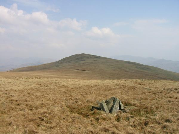 Looking back to Whitfell from Burn Moor