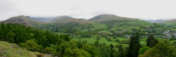 The Fairfield Horseshoe and Red Screes