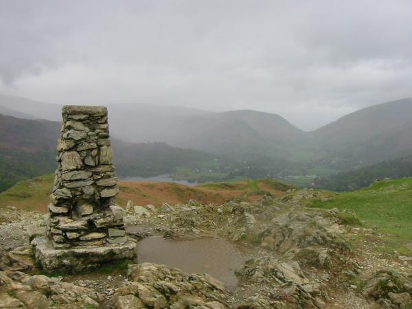 Dunmail Raise from the summit