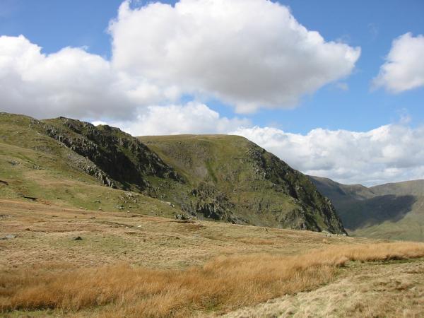 Harter Fell from Gatescarth Pass