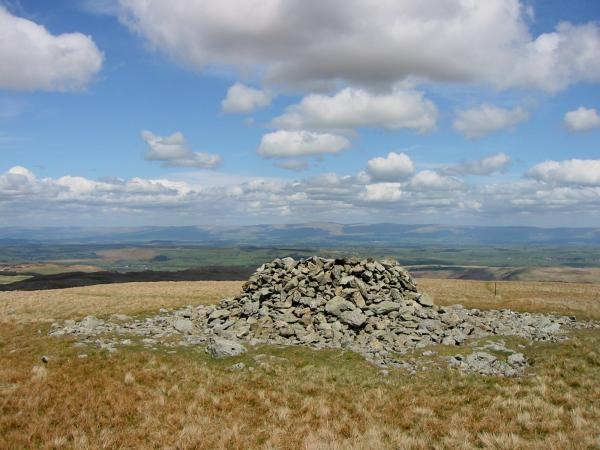 The Pennines from Selside Pike summit