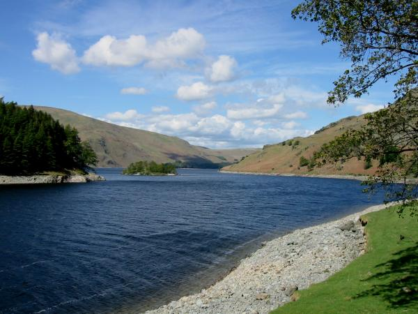Haweswater from the shore
