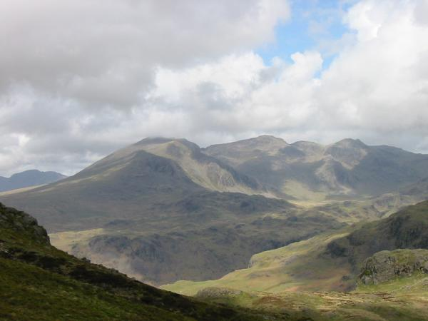 Zooming in on the Scafells