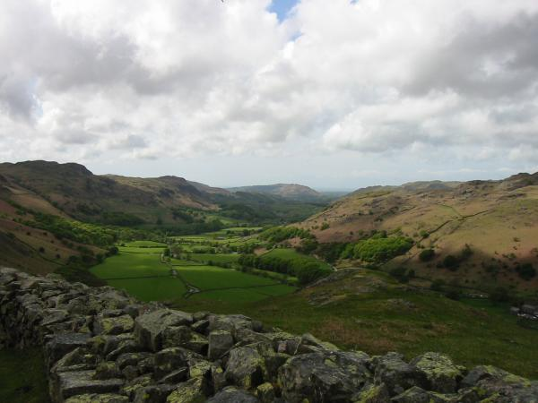 Eskdale from the fort