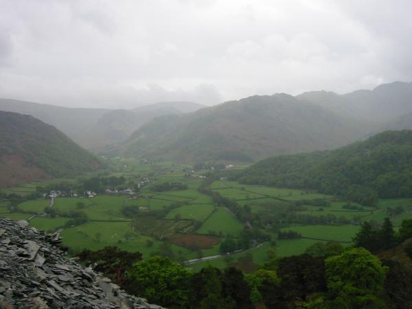 Rosthwaite, Stonethwaite and Bessy Boot, Rosthwaite Fell