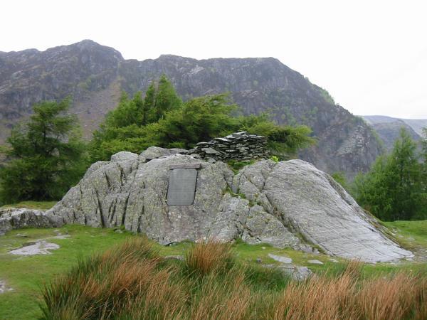Castle Crag summit