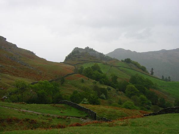 Looking back to Castle Crag