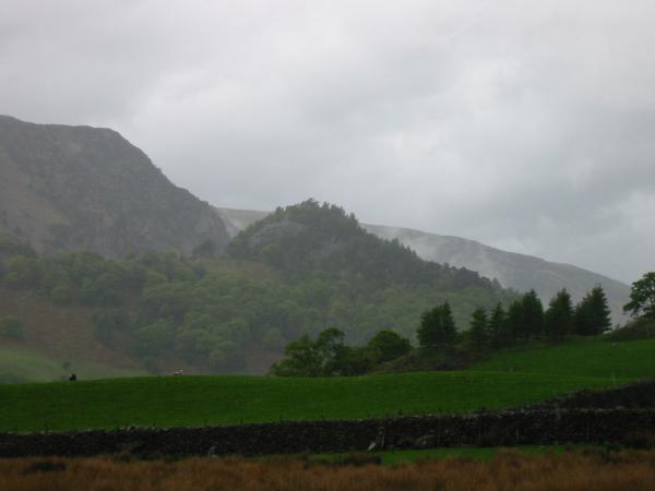 Castle Crag from near Longthwaite