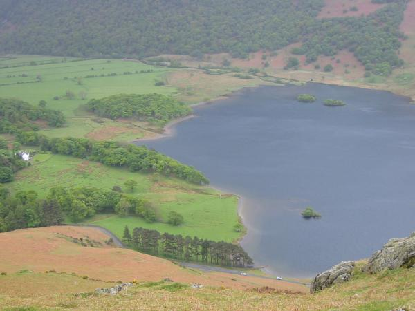 The head of Crummock Water