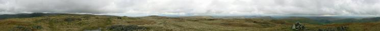 360 Panorama from Grey Crag's summit