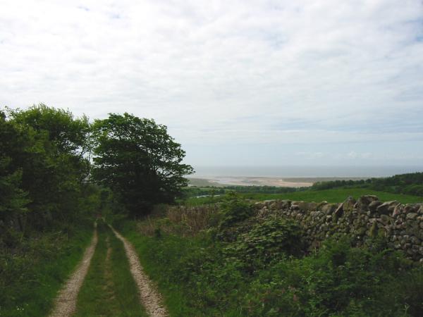 Looking back down Fell Lane