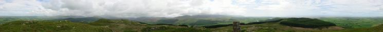 360 Panorama from Hooker Crag, Muncaster Fell's summit