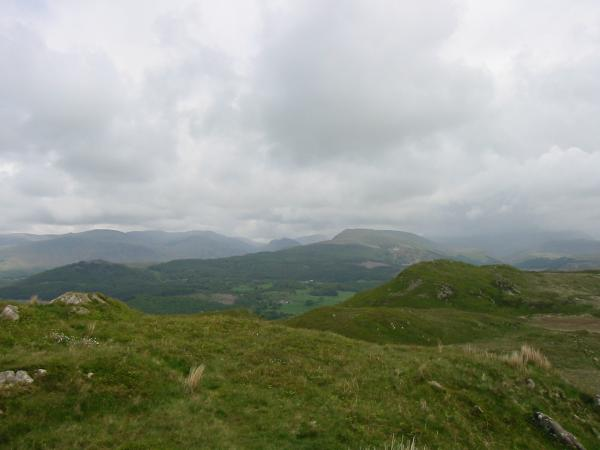 The Pillar group, Yewbarrow and Whin Rigg from the summit