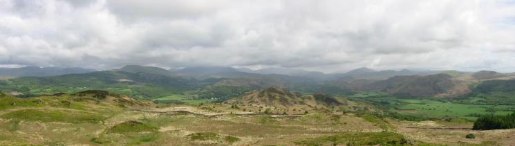 An easterly panorama