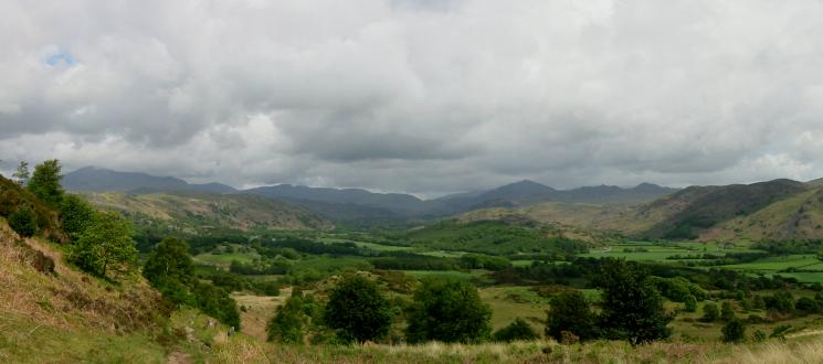 Eskdale from the descent