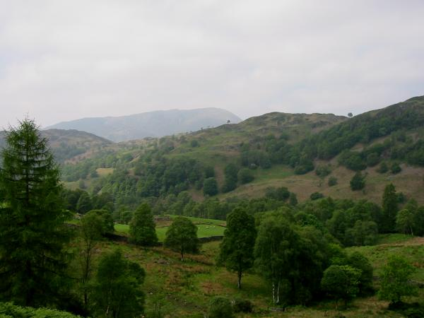 Looking over Holme Fell to Wetherlam