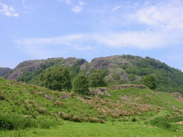 Holme Fell from above Yew Tree Farm