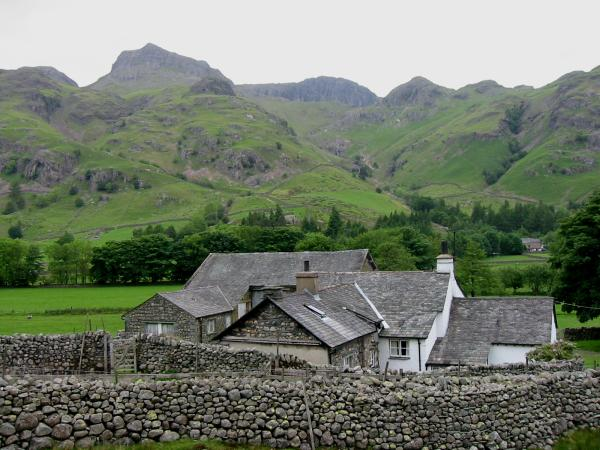 Harrison Stickle and Pavey Ark from Side House