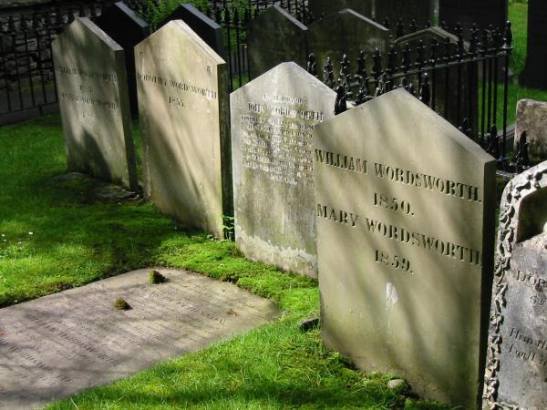 Wordsworth's grave, St Oswald's Church, Grasmere