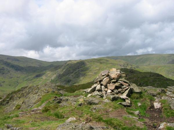 Looking towards Calf Crag from Gibson Knott summit
