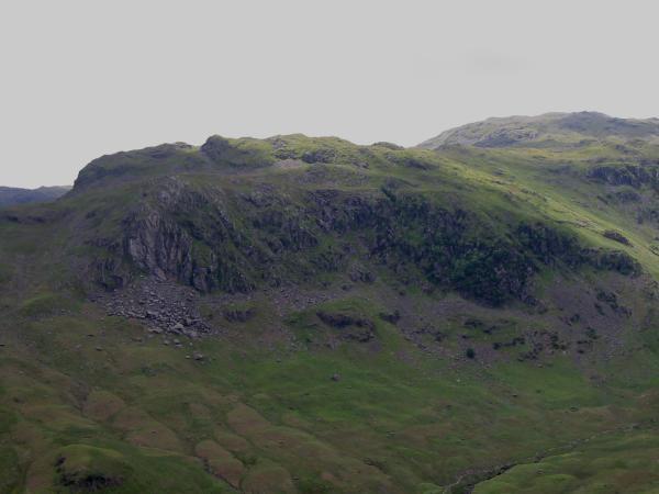Deer Bields on the side of Tarn Crag