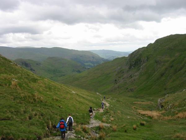 Heading down into Far Easdale