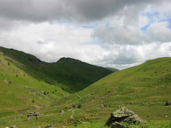 Far Easedale looking towards Helm Crag