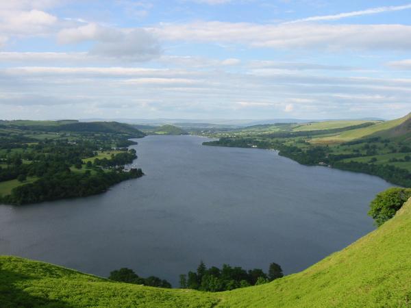 Looking northwards down Ullswater