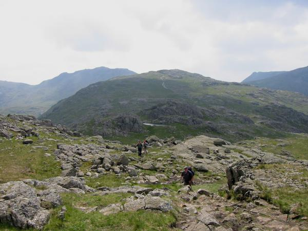 The ridge to Allen Crags