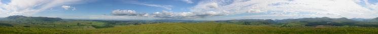 360 Panorama from Great Mell Fell's summit