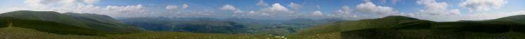 360 Panorama from Watson's Dodd's summit