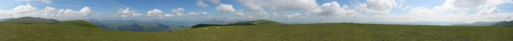 360 Panorama from Stybarrow Dodd's summit