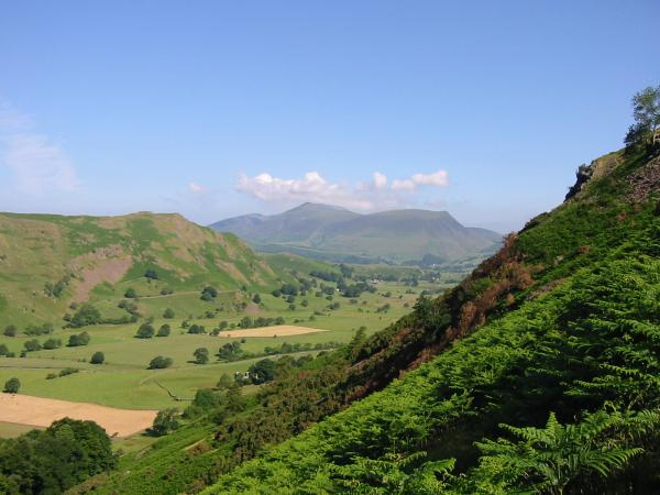Skiddaw and Lonscale Fell