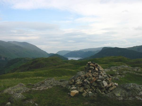 Thirlmere from High Rigg summit