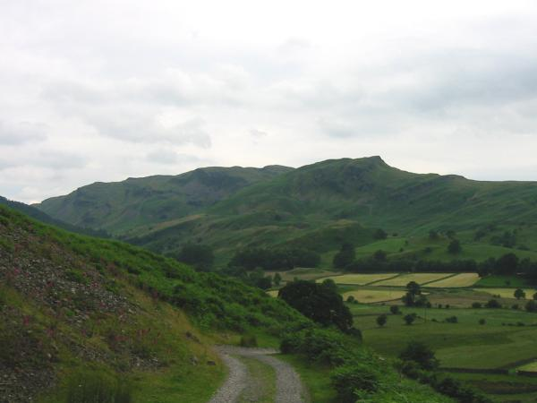 Dodd Crag with Bleaberry Fell behind