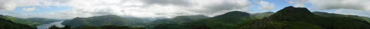 360 Panorama from Glenridding Dodd's summit
