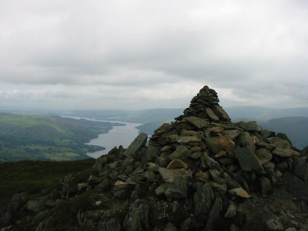 Sheffield Pike summit