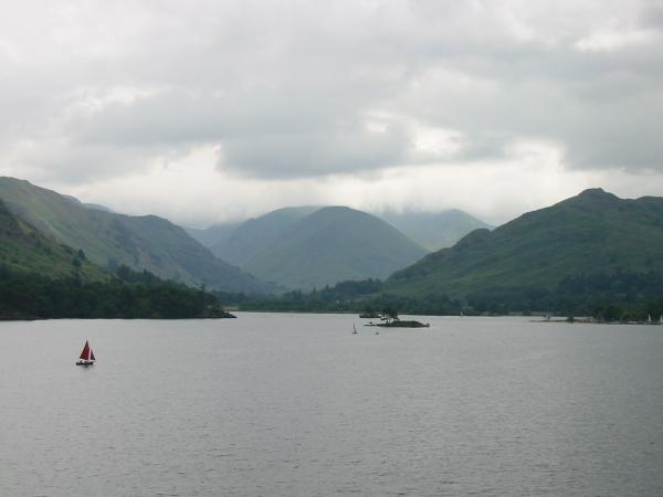 The head of Ullswater and Hartsop Dodd