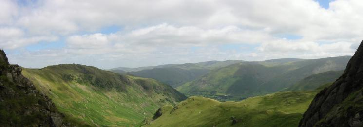 Easterly panorama from the ascent