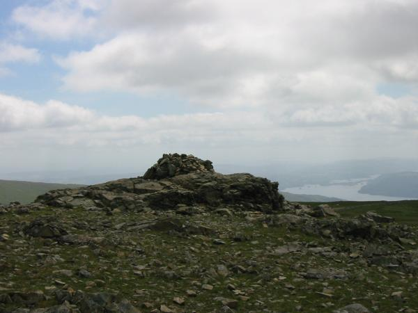 Dove Crag summit