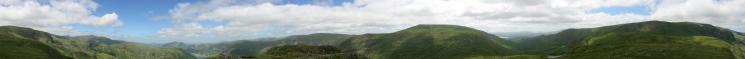 360 Panorama from Little Hart Crag's summit