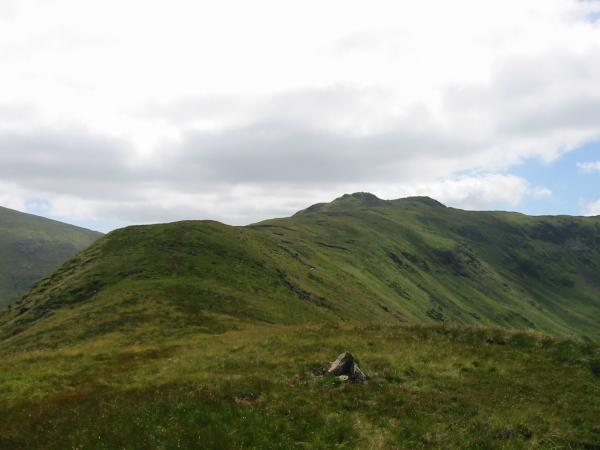 Little Hart Crag from High Hartsop Dodd summit
